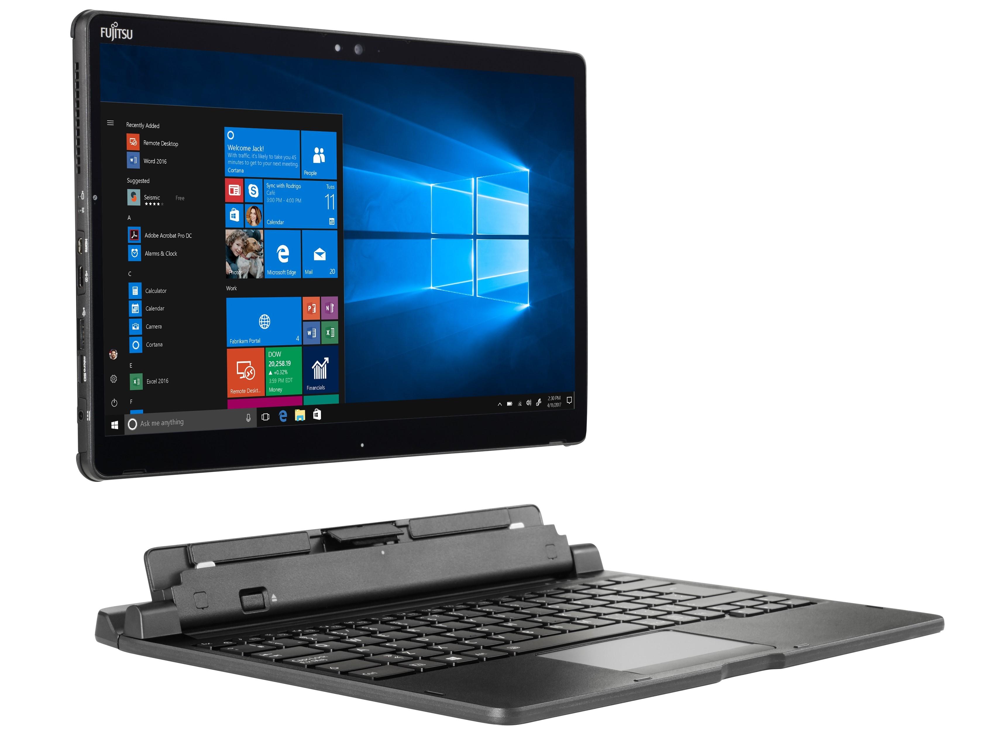 Smart Cover Reviews >> Fujitsu Stylistic Q738 (i5-8350U, UHD620) Convertible Review - NotebookCheck.net Reviews