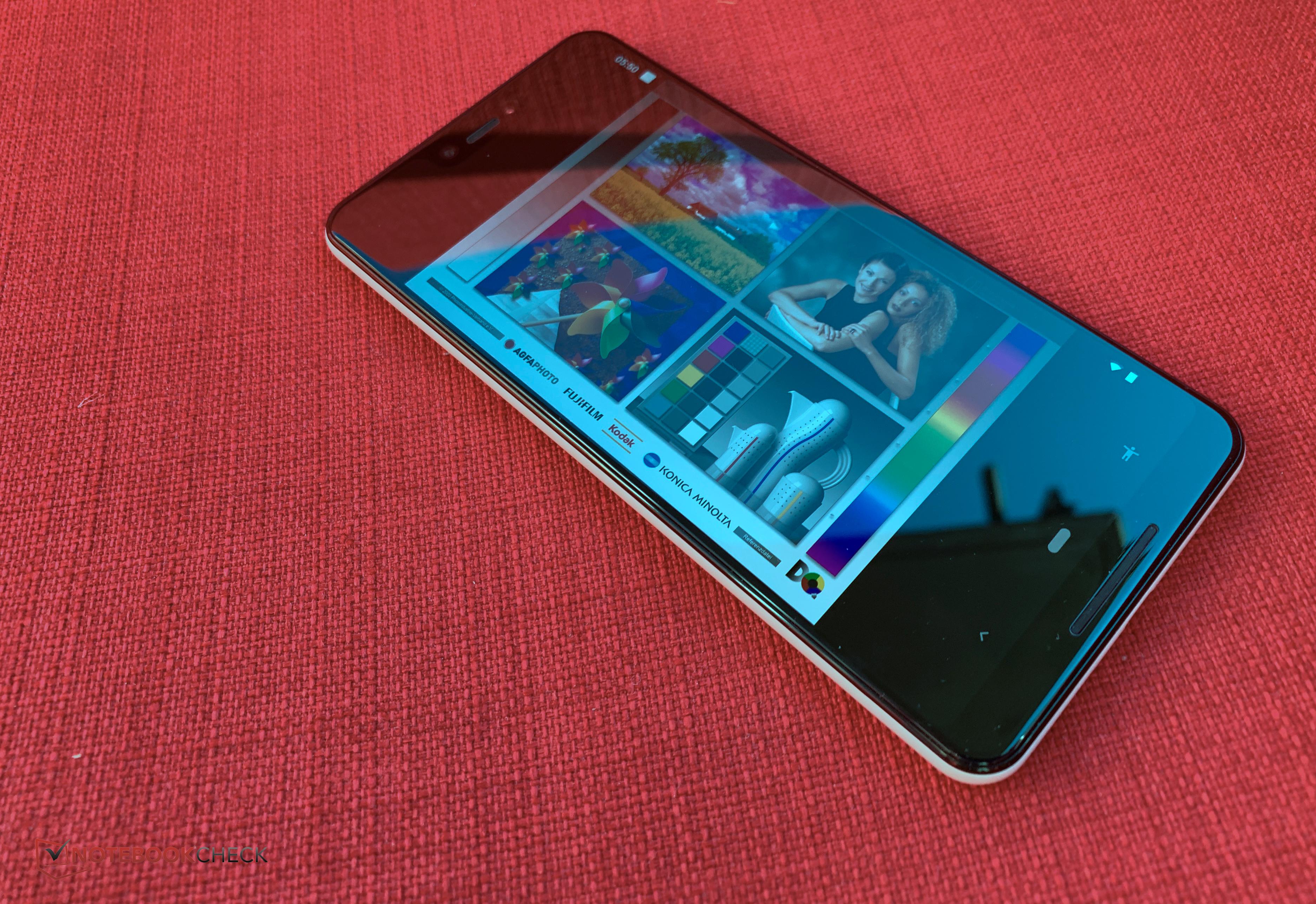 Google Pixel 3 XL Smartphone Review - NotebookCheck net Reviews