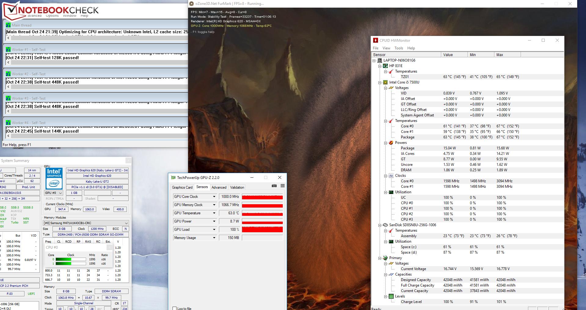 HP 14-bs007ng (i5-7200U, FHD) Laptop Review - NotebookCheck