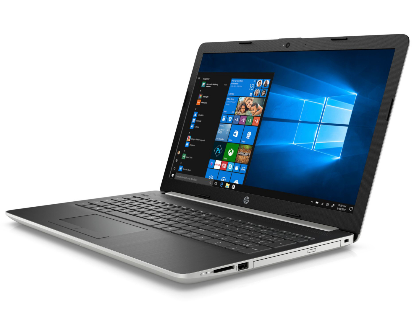 HP 15 (i5-8250U, GeForce MX110, SSD, FHD) Laptop Review - NotebookCheck.net Reviews