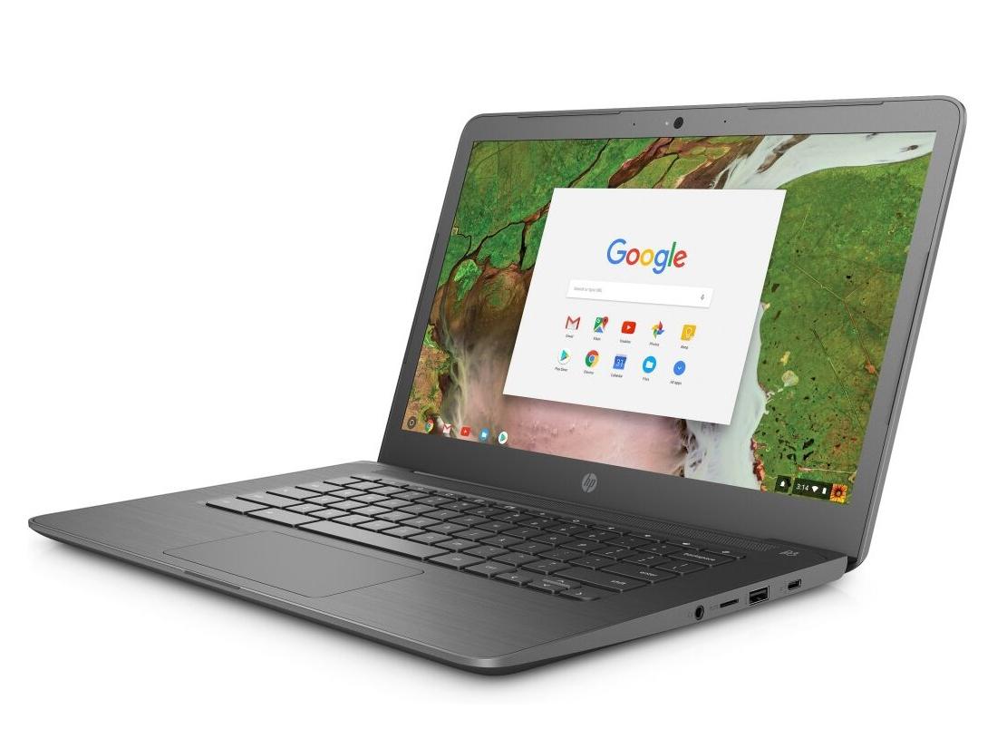 HP Chromebook 14 G5 (Celeron N3350, 32 GB eMMC, 4 GB RAM, FHD