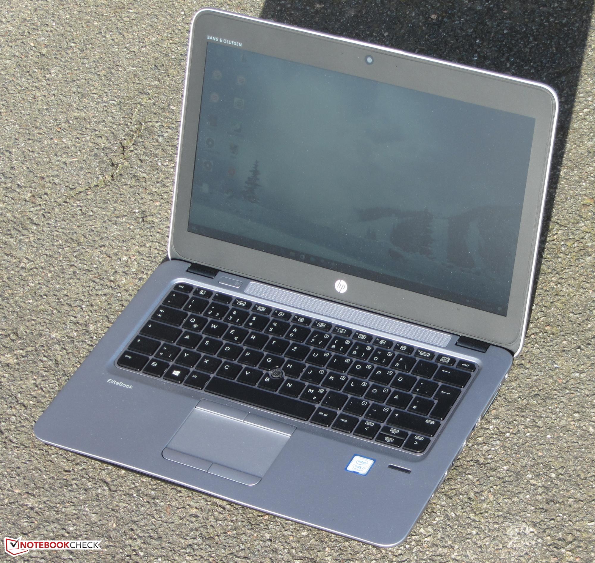 HP EliteBook 820 G4 (7500U, Full HD) Notebook Review - NotebookCheck