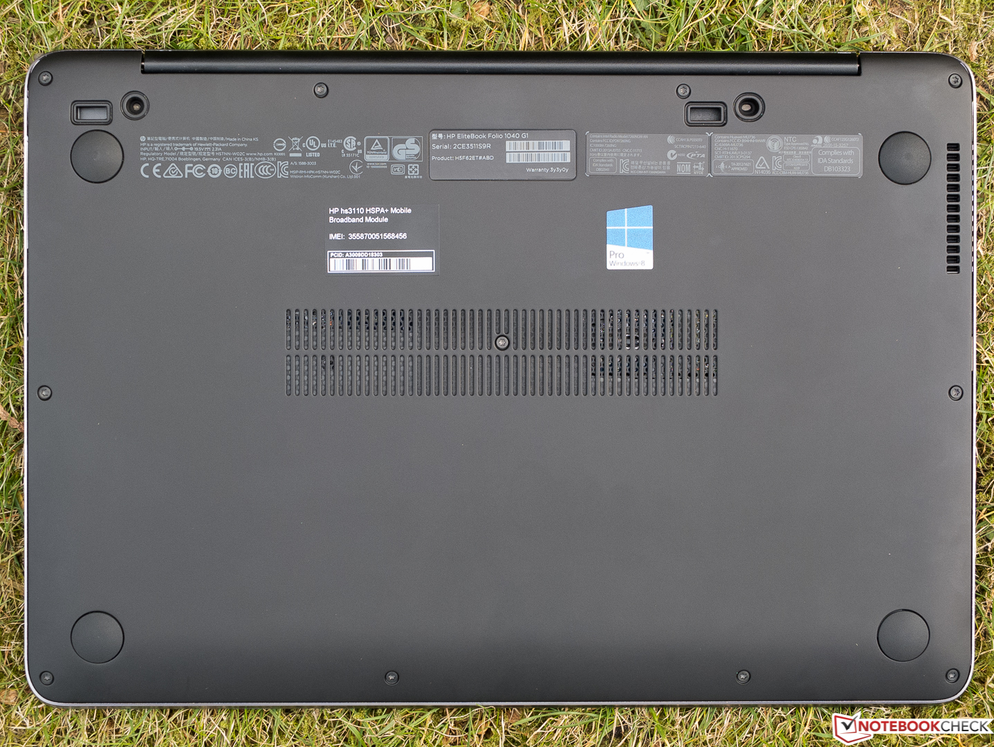 HP EliteBook Folio 1040 G2 Ultrabook Review - NotebookCheck