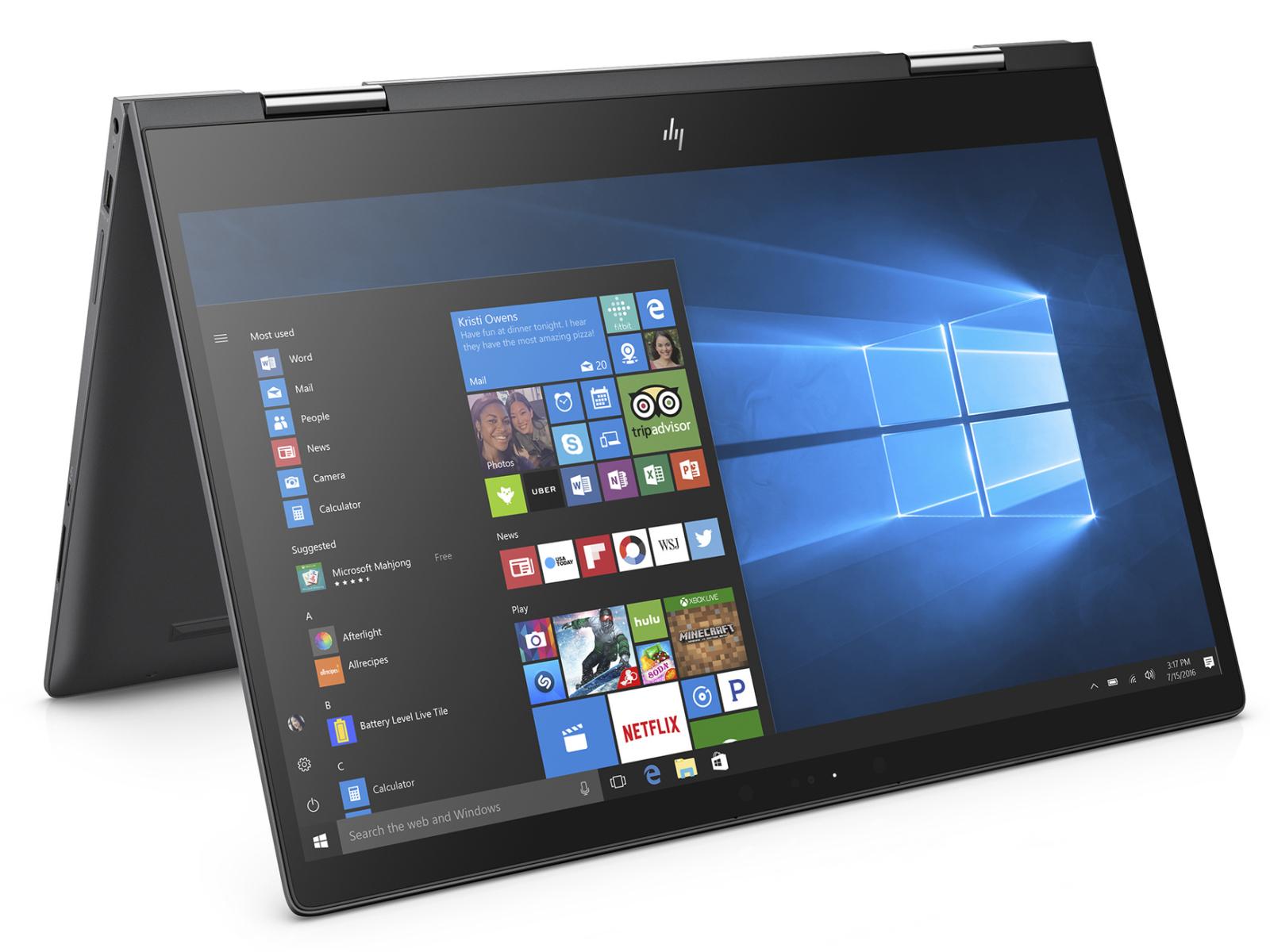 HP Envy x360 15z (Ryzen 5 2500U, Vega 8, SSD, FHD) Convertible