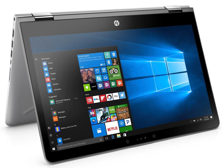 fe39ed504 HP Pavilion x360 14t. Review unit courtesy of: notebooksbilliger.de. The HP  Pavilion x360 14t is a 14-inch ...