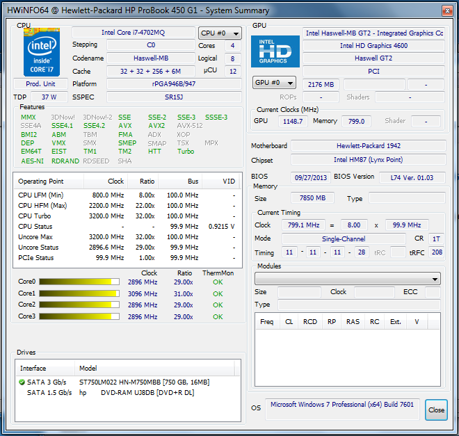 Drivers: HP ProBook 650 G1 Atheros Bluetooth