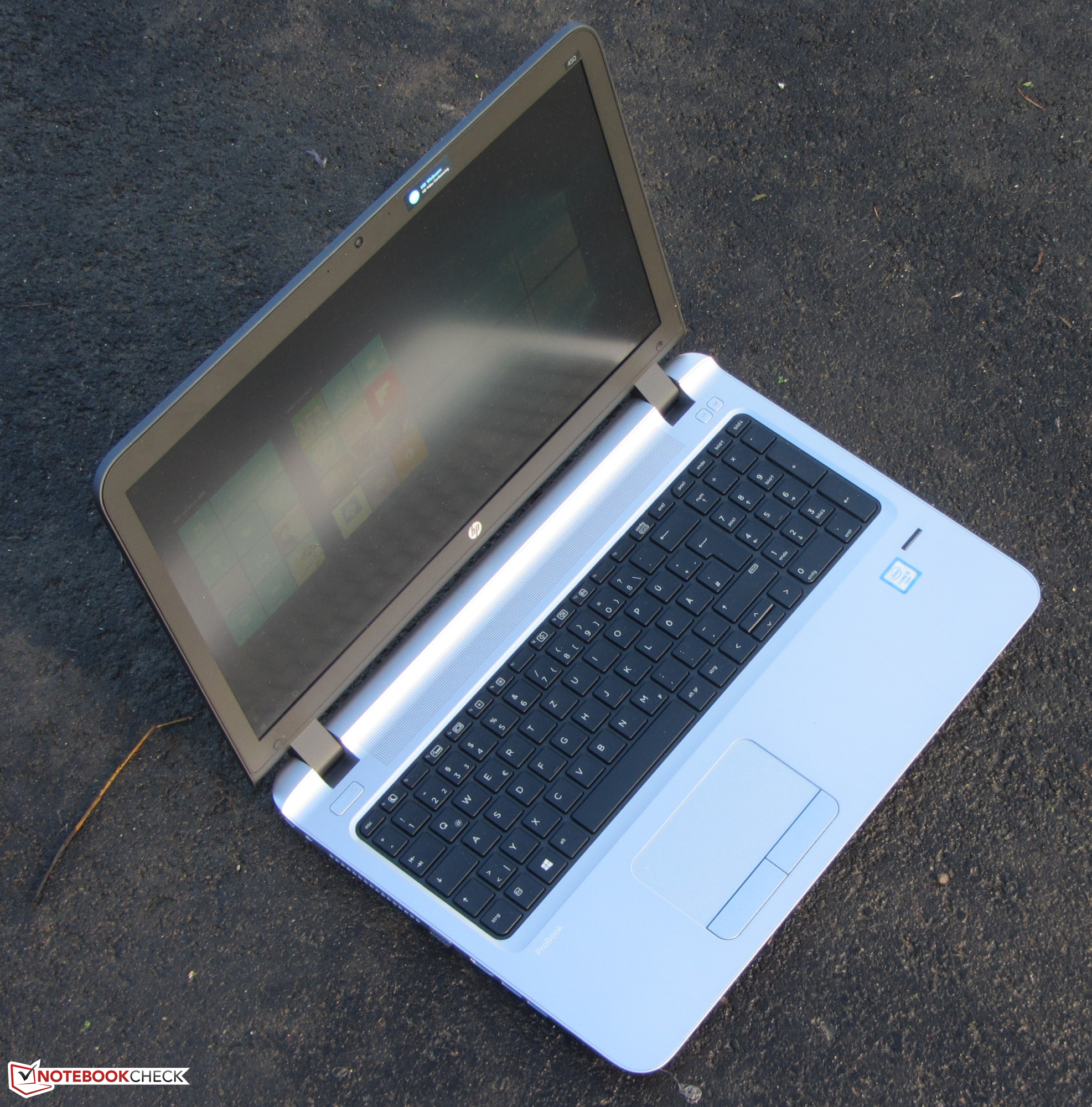 HP ProBook 450 G3 Notebook Review - NotebookCheck net Reviews