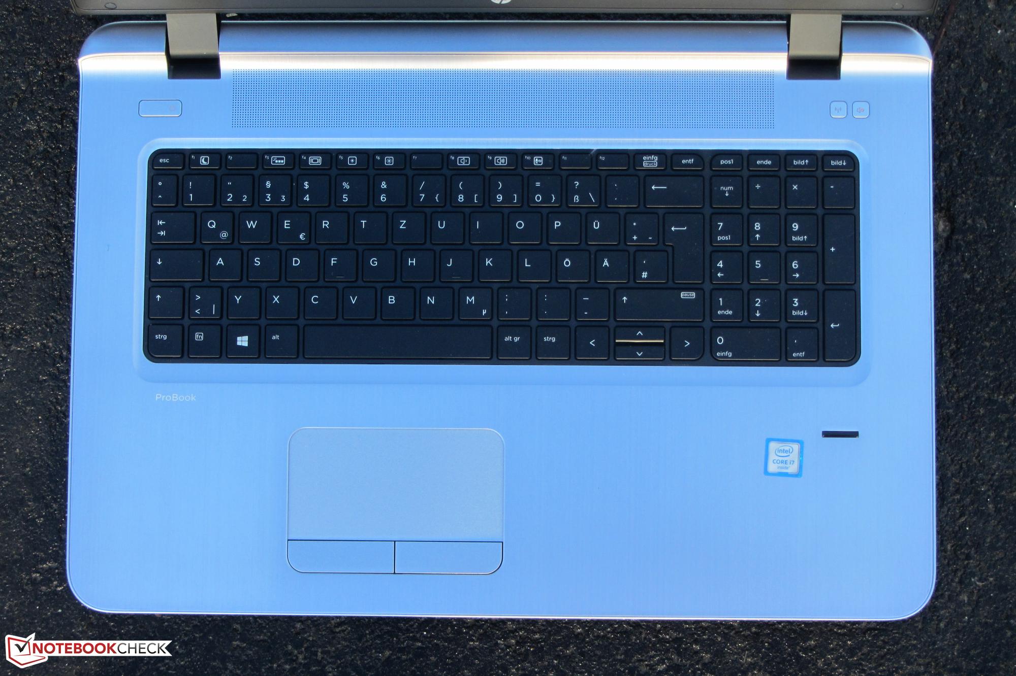 HP ProBook 470 G3 (Core i7-6500U, Radeon R7 M340) Notebook