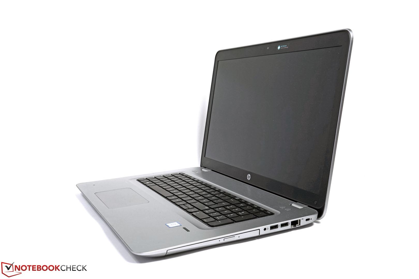 HP ProBook 470 G4 Notebook Review - NotebookCheck net Reviews
