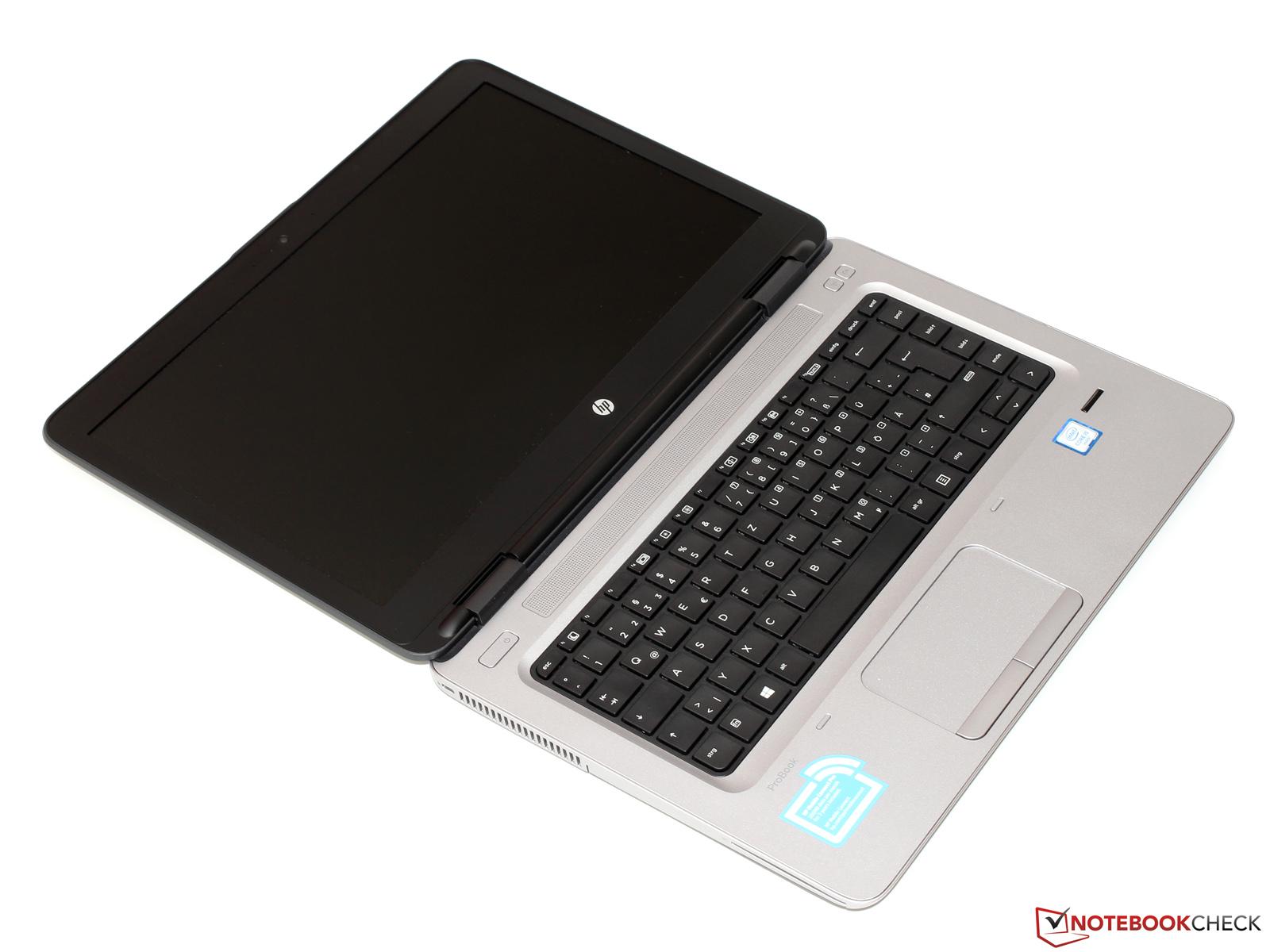 HP ProBook 640 G2 Notebook Review - NotebookCheck net Reviews