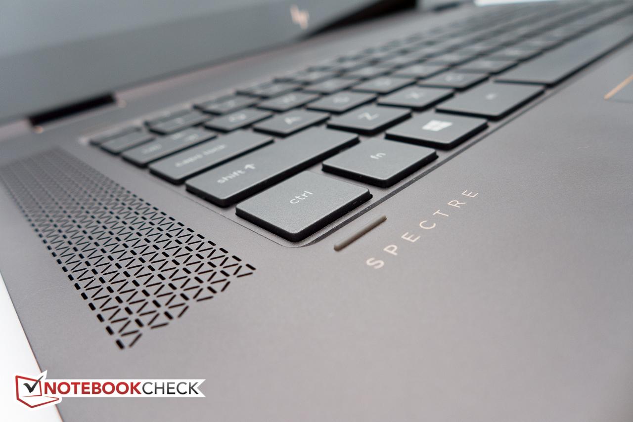 HP Spectre x360 15-bl002xx Convertible Review - NotebookCheck net