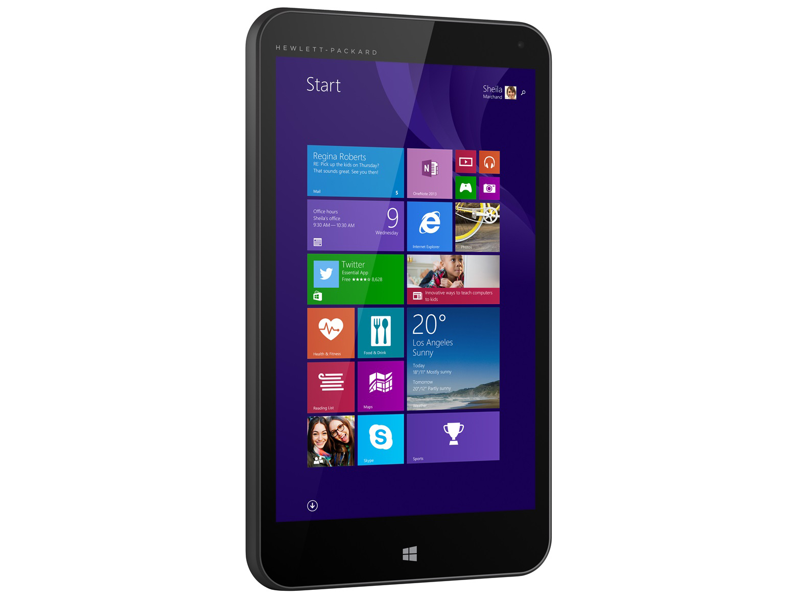 HP Stream 7 5700ng Tablet Review - NotebookCheck.net Reviews