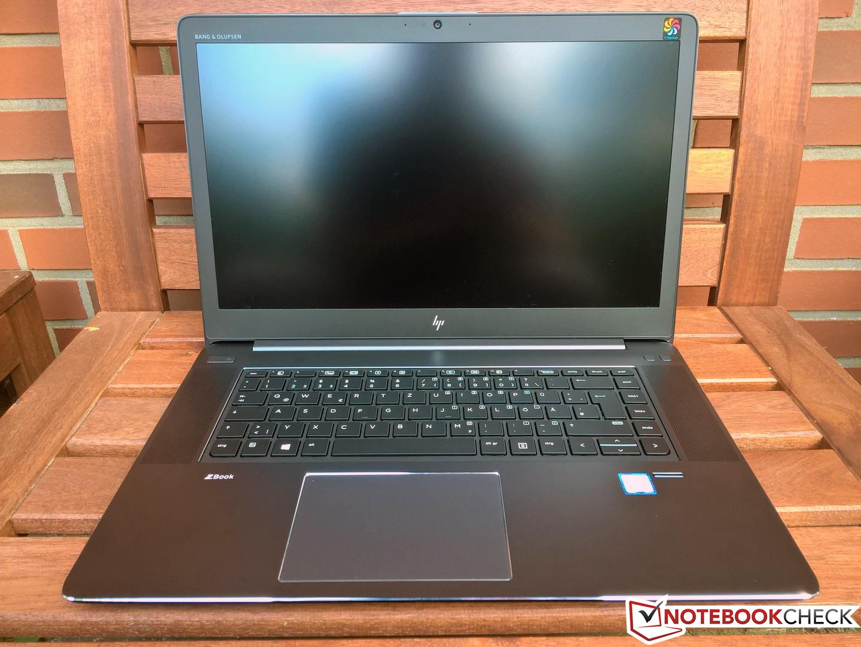 HP ZBook Studio G4 (Xeon, Quadro M1200, DreamColor
