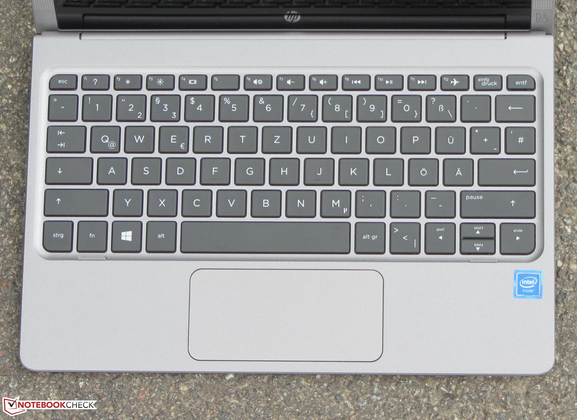 HP x2 210 G1 Convertible Review - NotebookCheck net Reviews