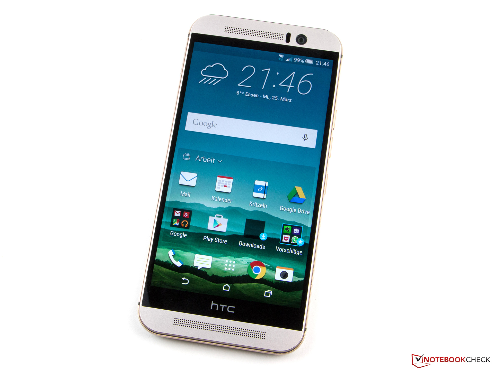 HTC One M9 Smartphone Review - NotebookCheck net Reviews