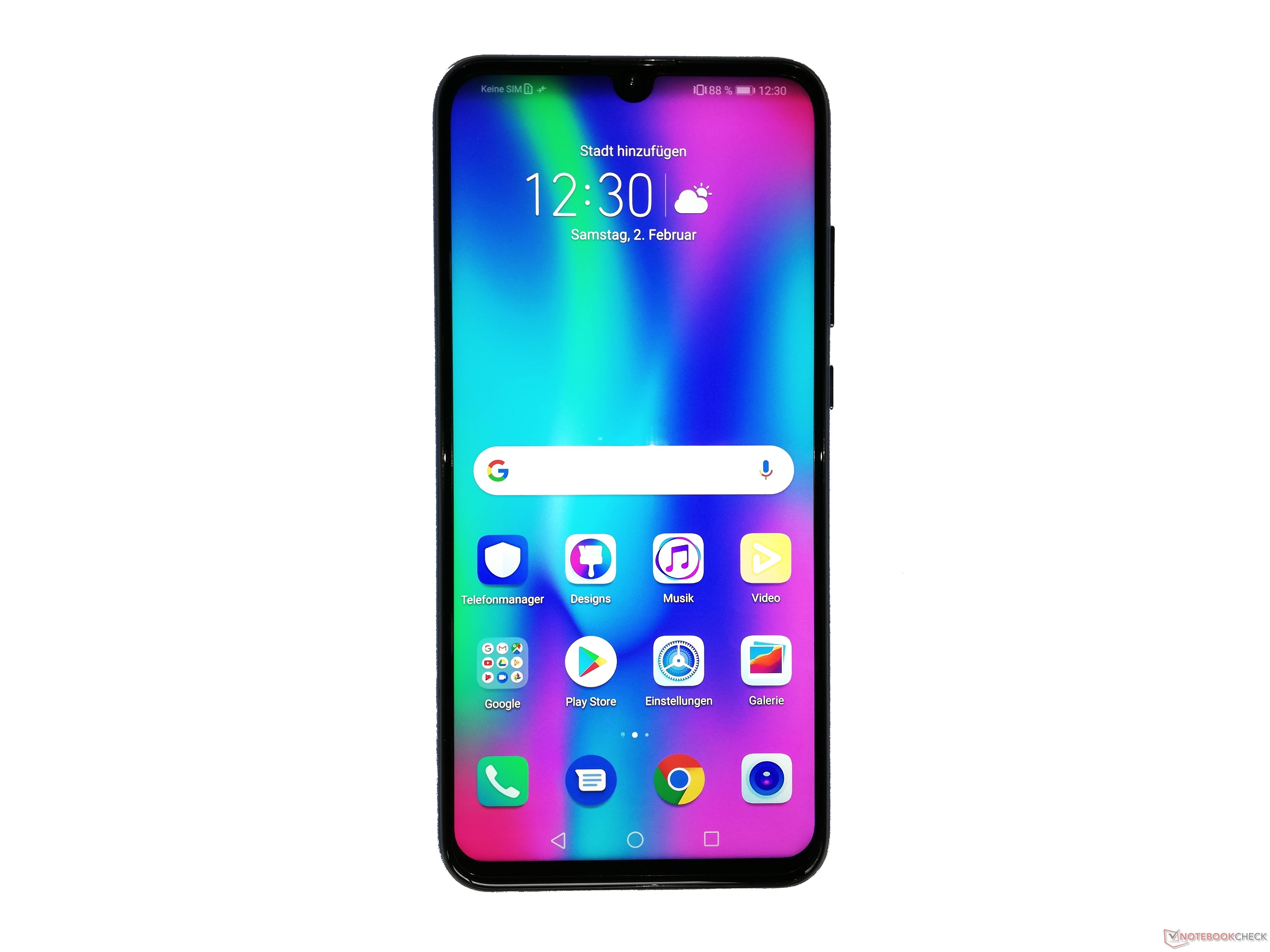 Honor 10 Lite Smartphone Review - NotebookCheck net Reviews
