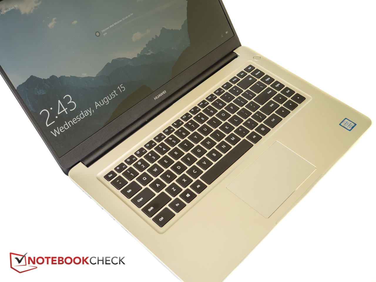 Huawei MateBook D 53010BAJ (8250U, MX150) Laptop Review
