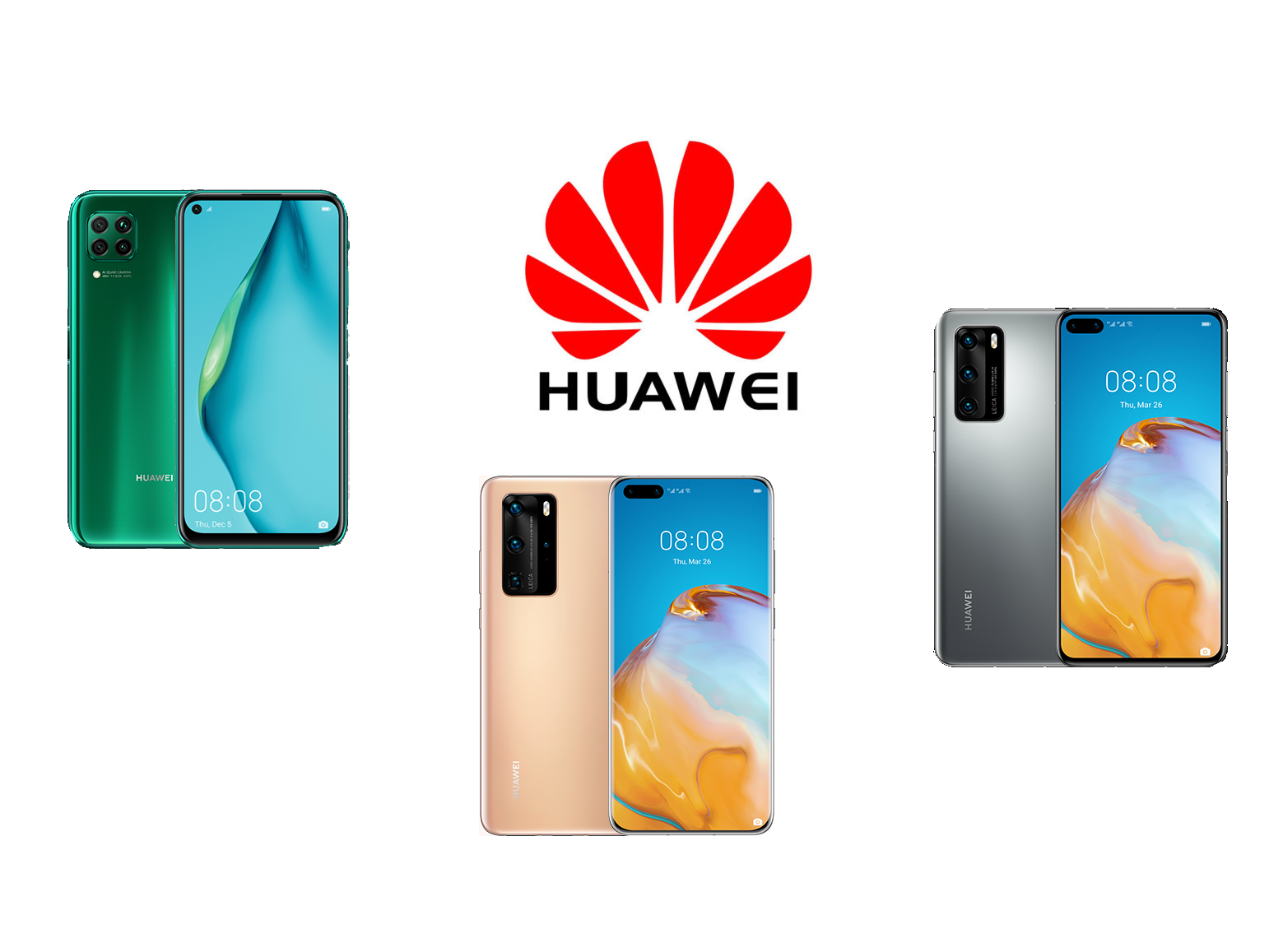 Huawei P40 & P40 Pro & P40 Lite Version : Review
