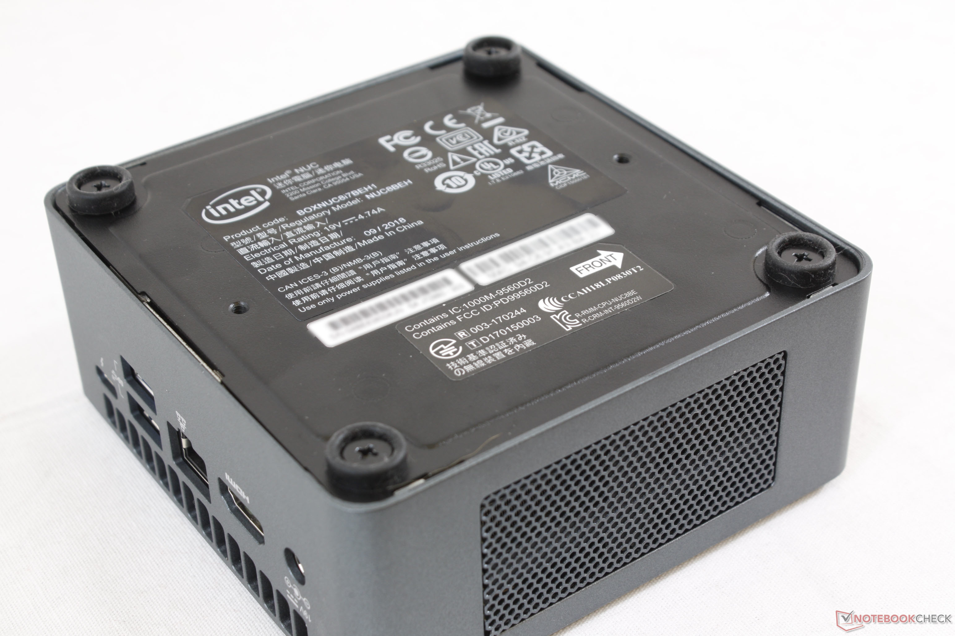Intel NUC Kit NUC8i7BEH (i7-8559U) Mini PC Review