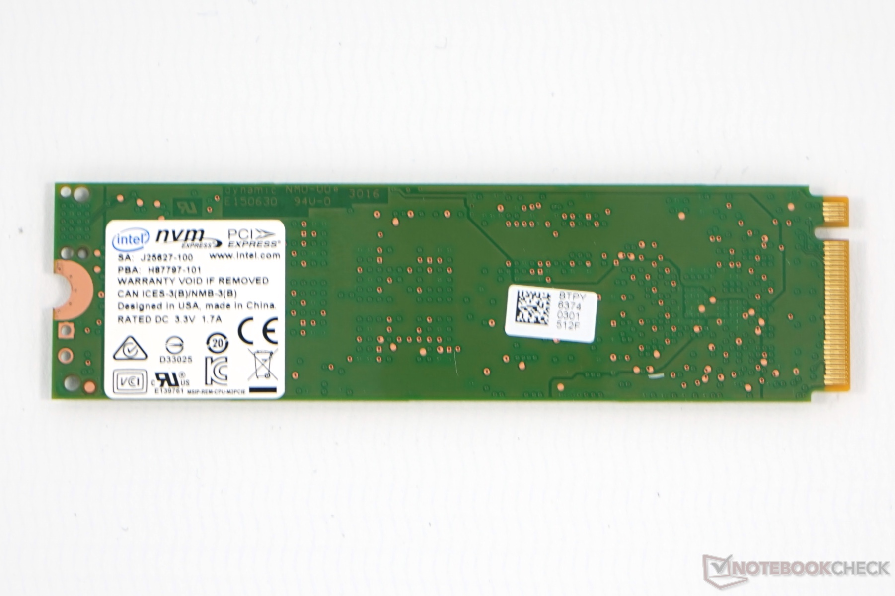 Intel SSD 600p 512 GB Review: The Entry-Level NVMe SSD