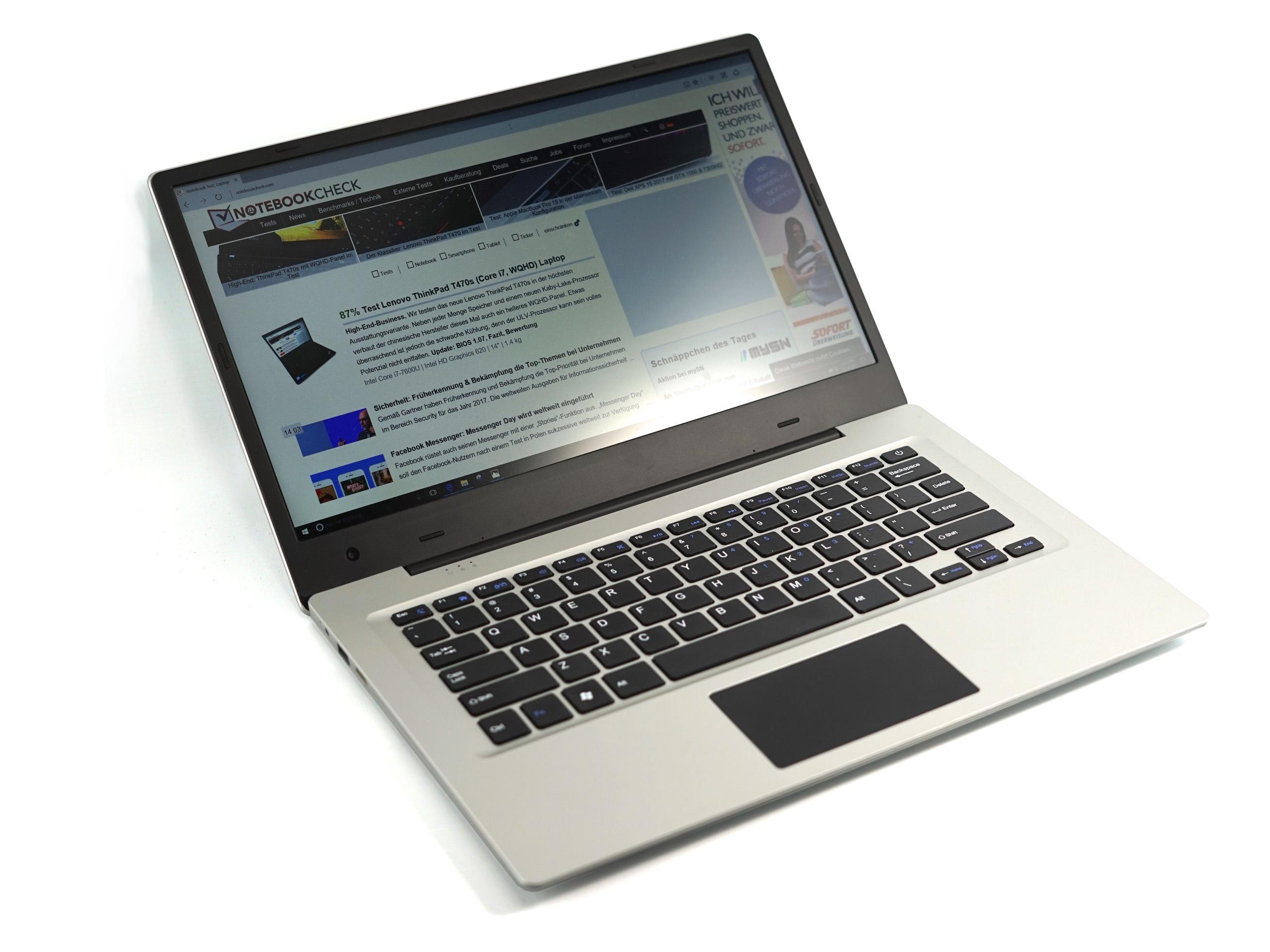 Jumper EZBook 3 (N3350, FHD) Laptop Review - NotebookCheck