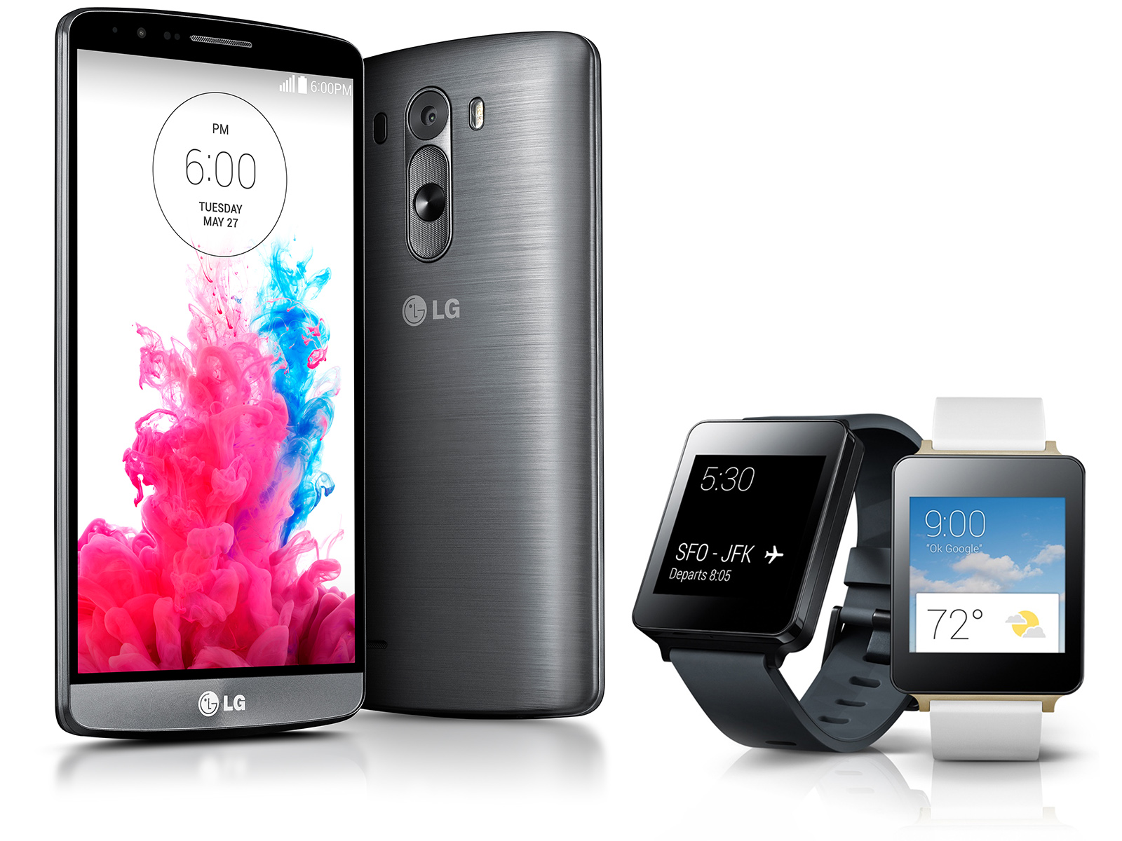 LG G3 Smartphone and LG G Watch Review - NotebookCheck net Reviews