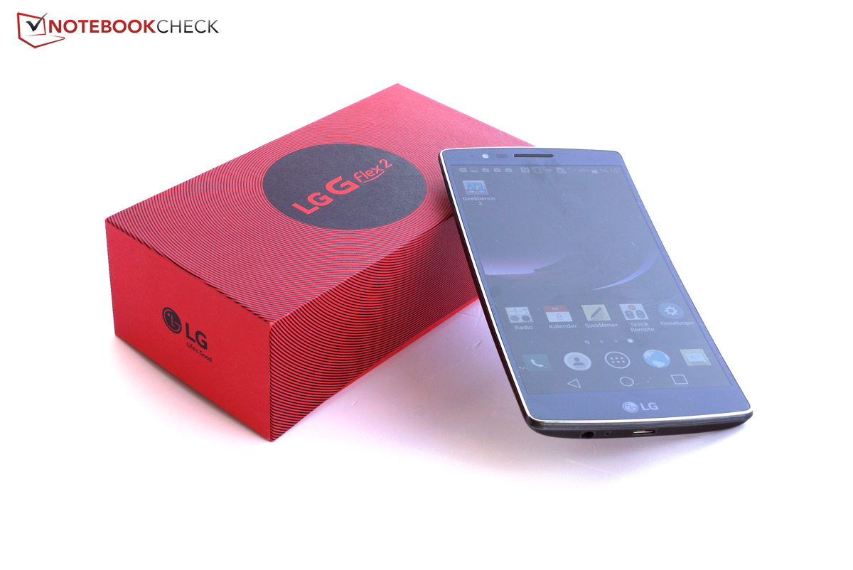 lg g flex 2 smartphone review notebookcheck net reviews