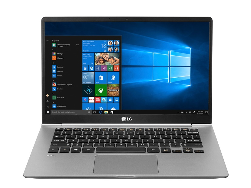 LG Gram 14Z980 (i5-8250U) Laptop Review - NotebookCheck net Reviews