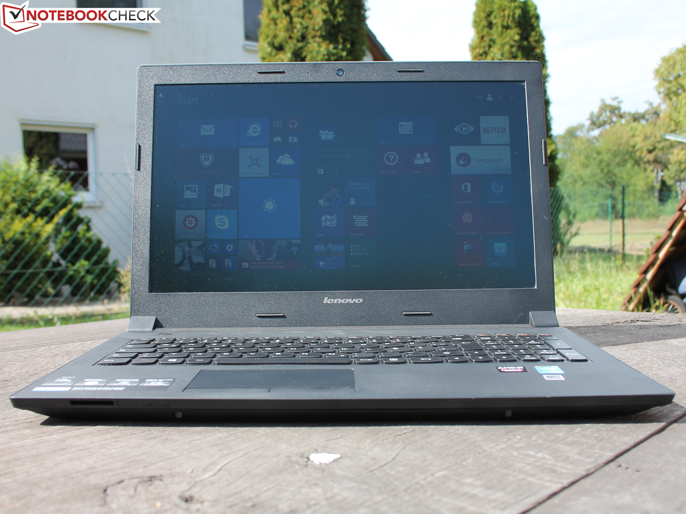 Lenovo B50-80 Notebook Review - NotebookCheck net Reviews