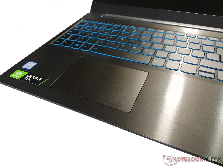 Lenovo Ideapad L340 Gaming Laptop Review Stiff Clickpad Impacts Gaming Fun Notebookcheck Net Reviews