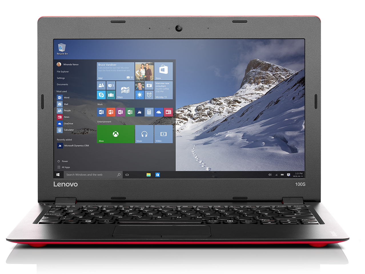 Lenovo Ideapad 100S Notebook Review - NotebookCheck net Reviews