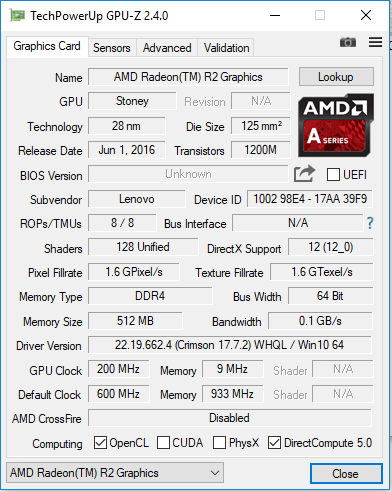 AMD RADEON R2 SERIES DRIVER DOWNLOAD