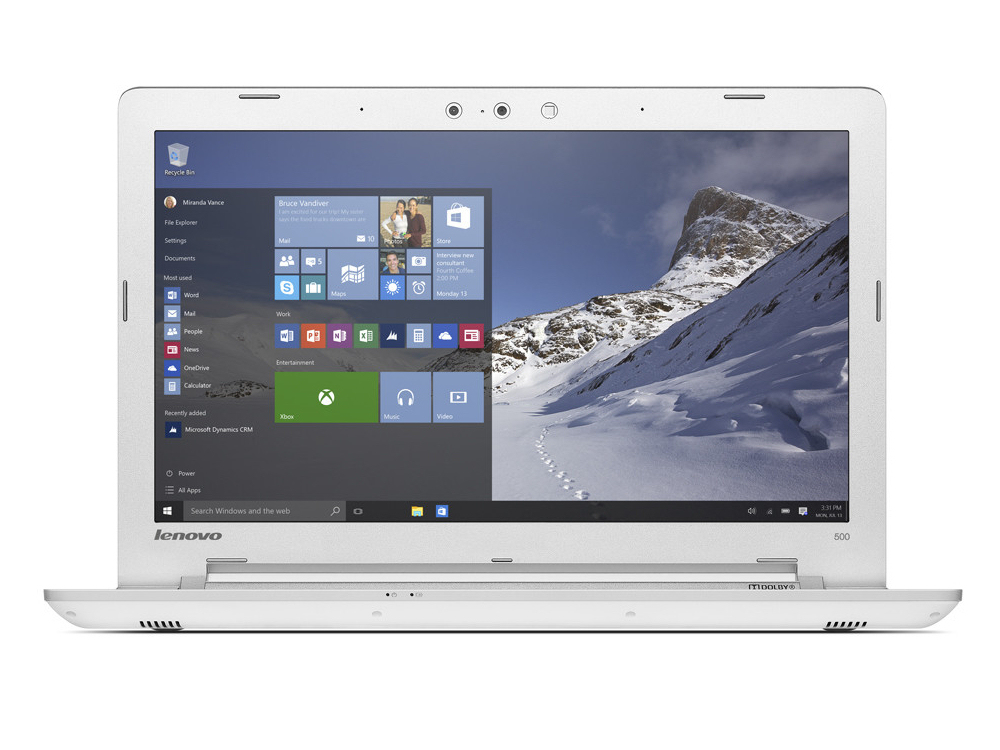 Lenovo IdeaPad 500-15ISK Notebook Review - NotebookCheck net Reviews