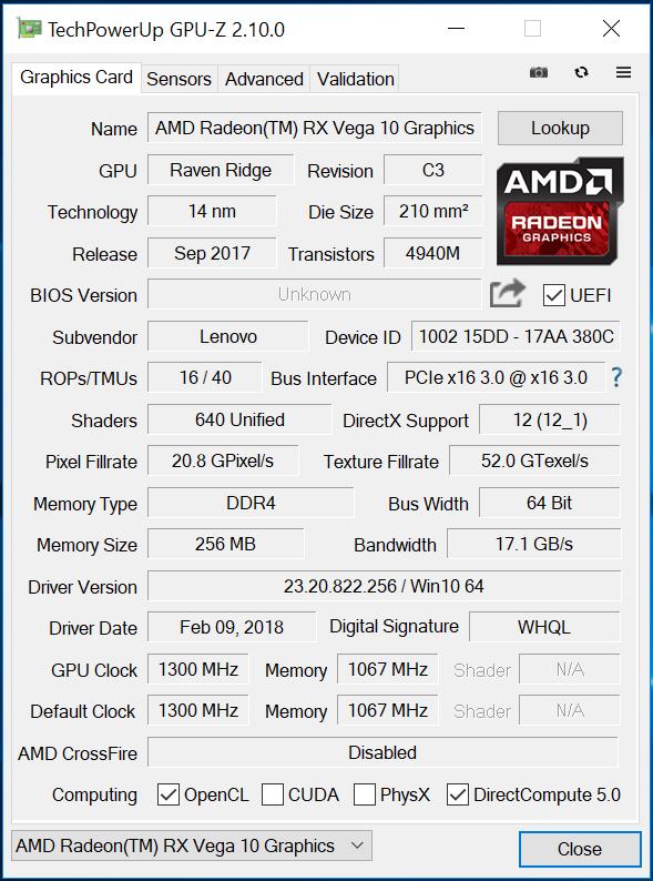thread stuck in device driver vega 64