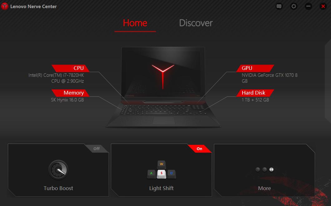 Lenovo Legion Y920 17ikb I7 7820hk Gtx 1070 Laptop