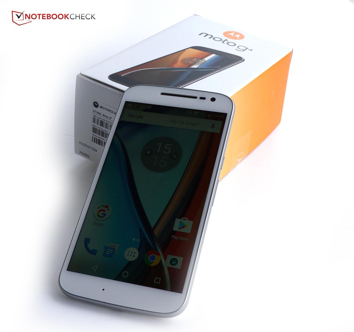 Lenovo Moto G4 Smartphone Review