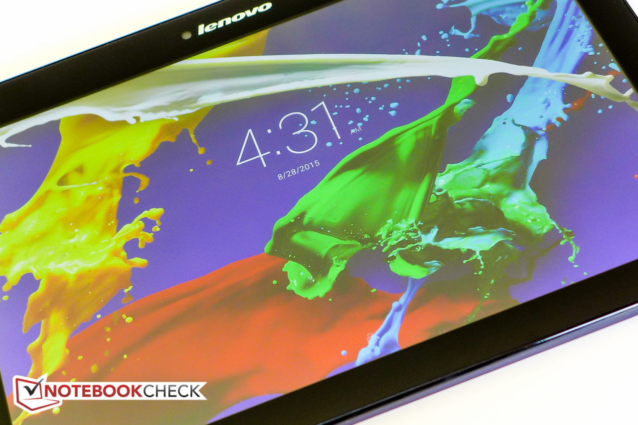 Lenovo TAB 2 A10-70 Tablet Review - NotebookCheck.net Reviews