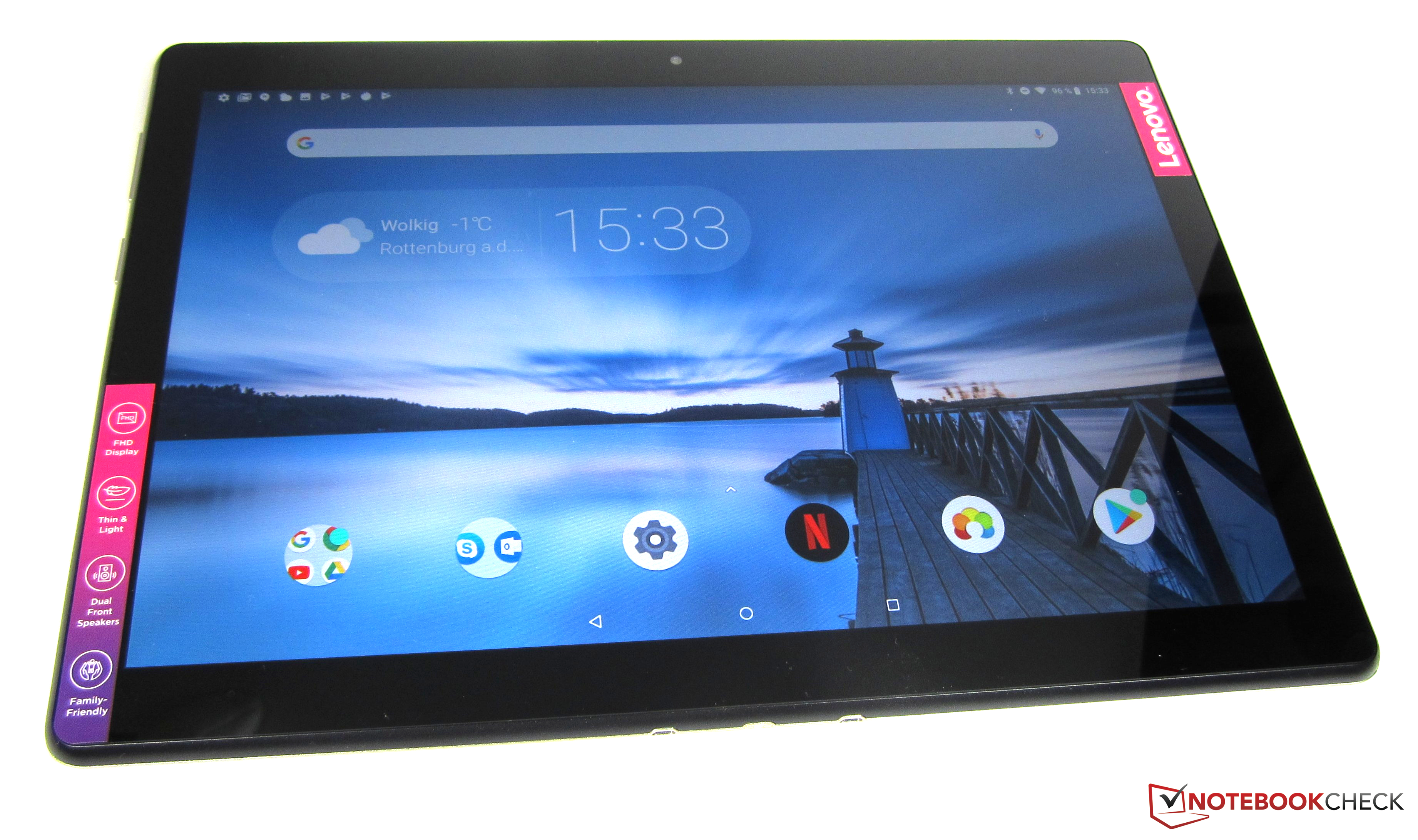Lenovo Tab M10 Tablet Review - NotebookCheck net Reviews