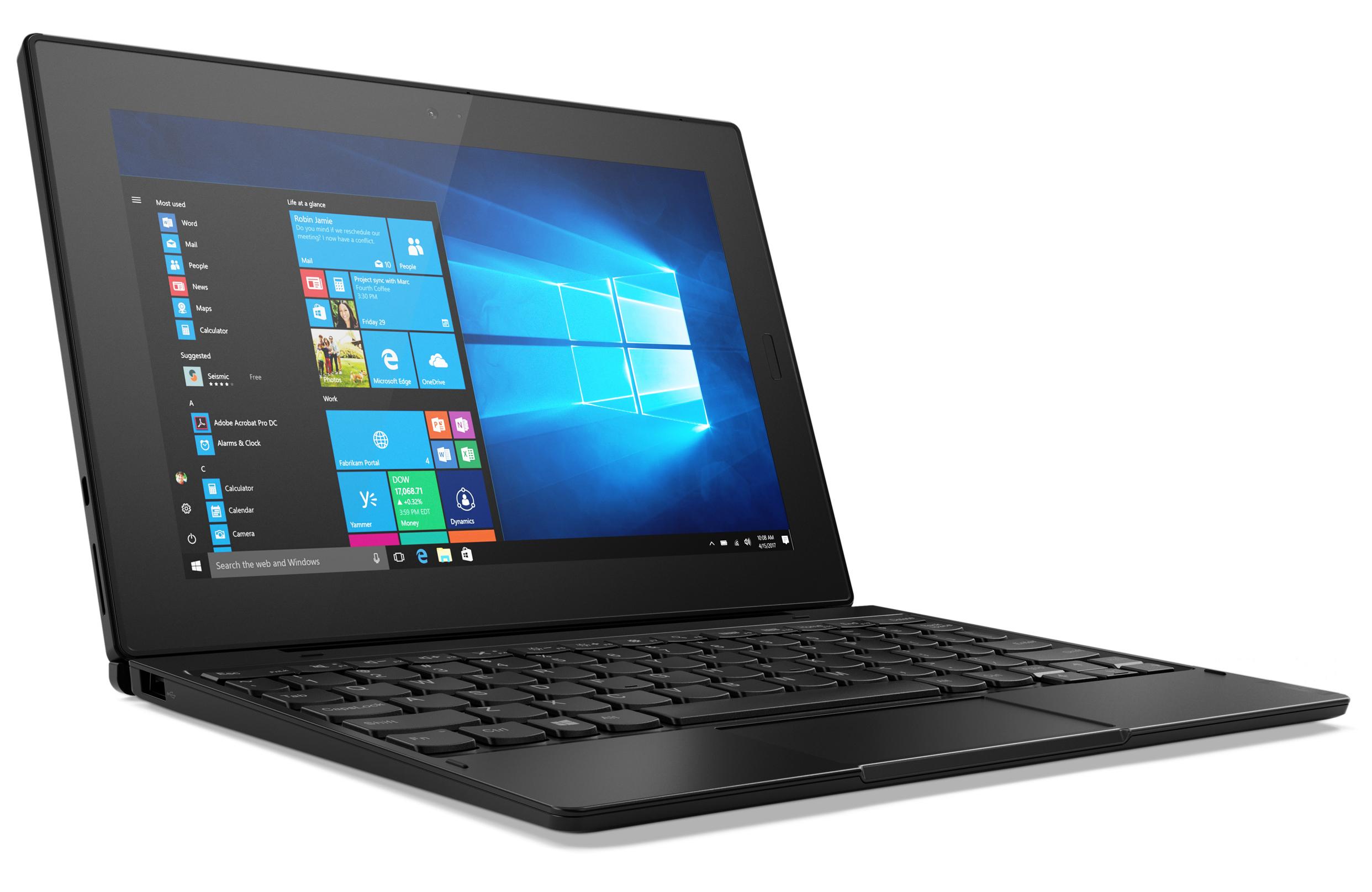 Lenovo Tablet 10 (Celeron N4100, eMMC, LTE, WUXGA) Tablet