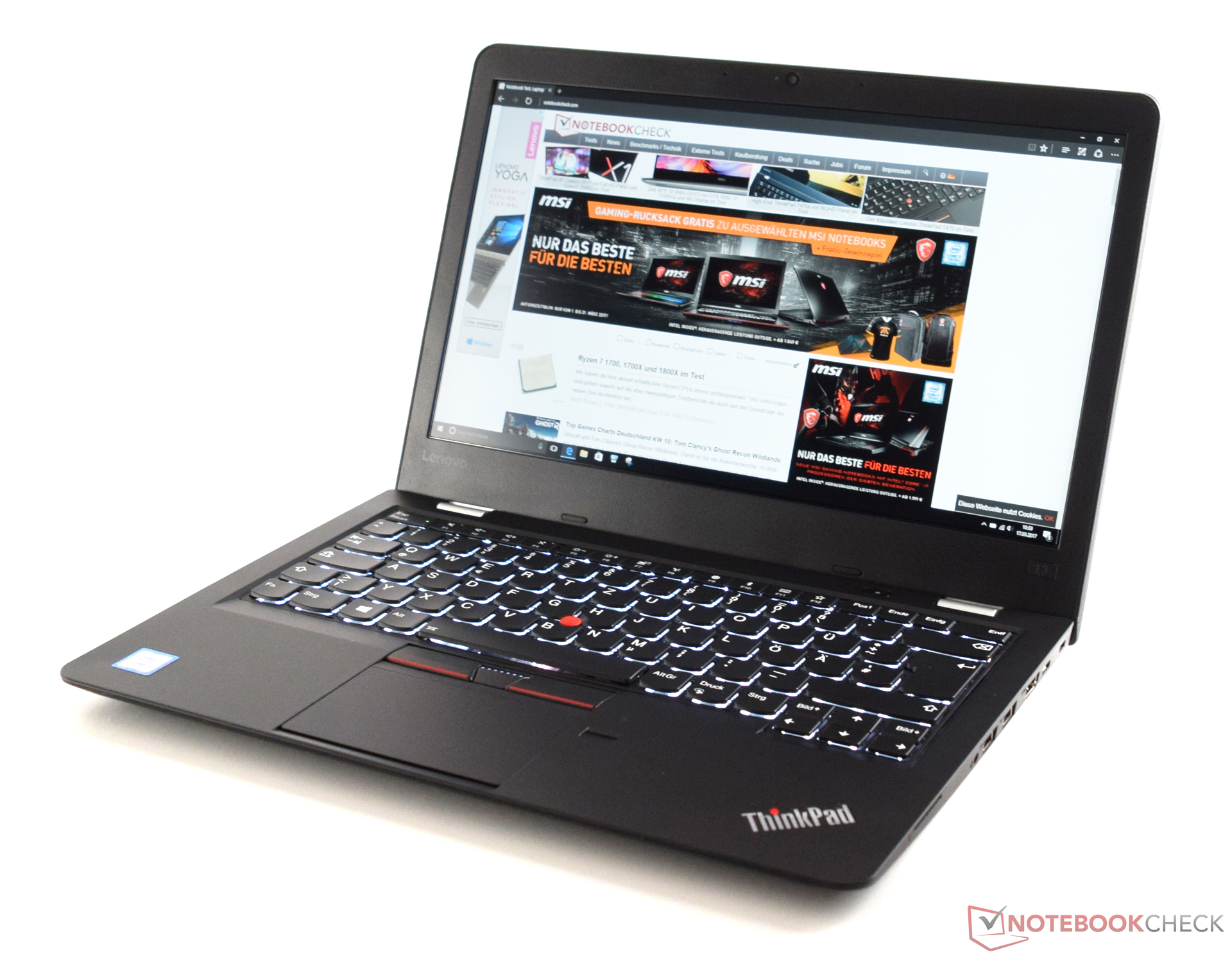 Lenovo ThinkPad 13 2017 (Core i7, Full-HD) Laptop Review