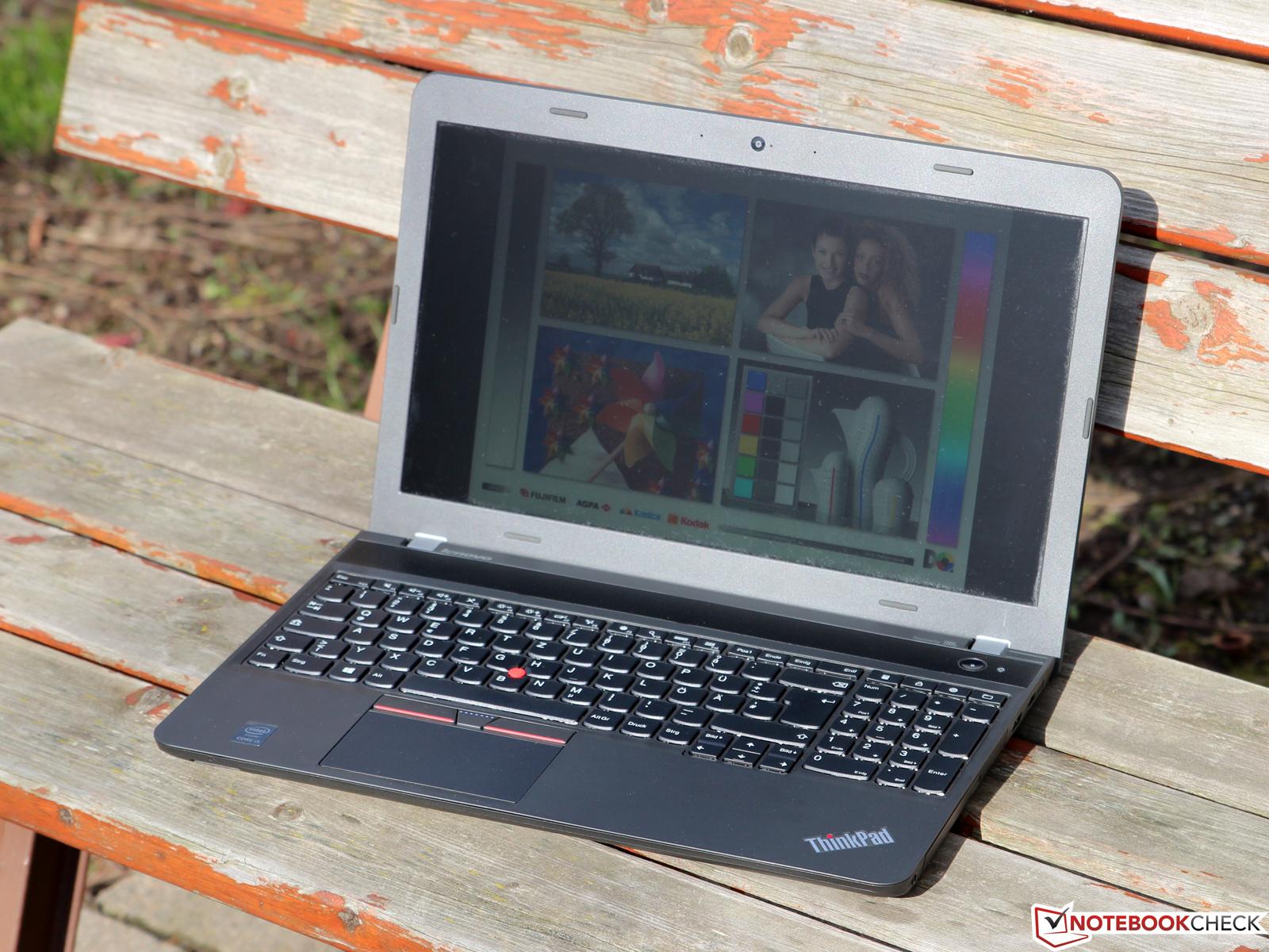 Lenovo ThinkPad E550 Monitor Linux
