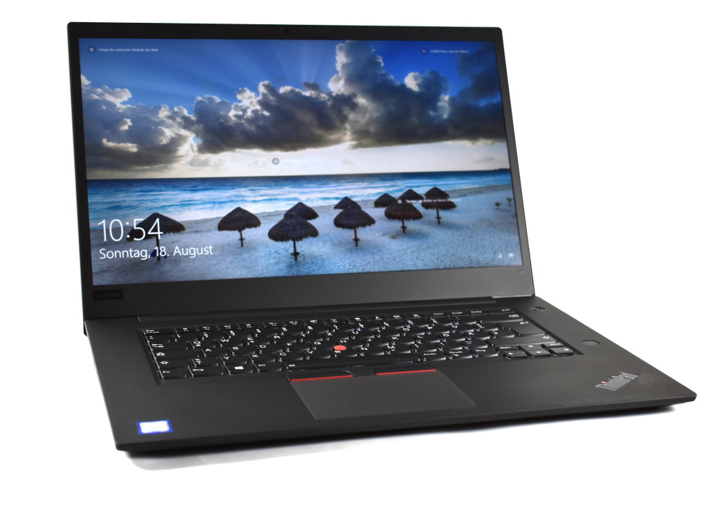 557b63e9d9d4b Lenovo ThinkPad P1 2019 Laptop Review: Slim workstation with ...