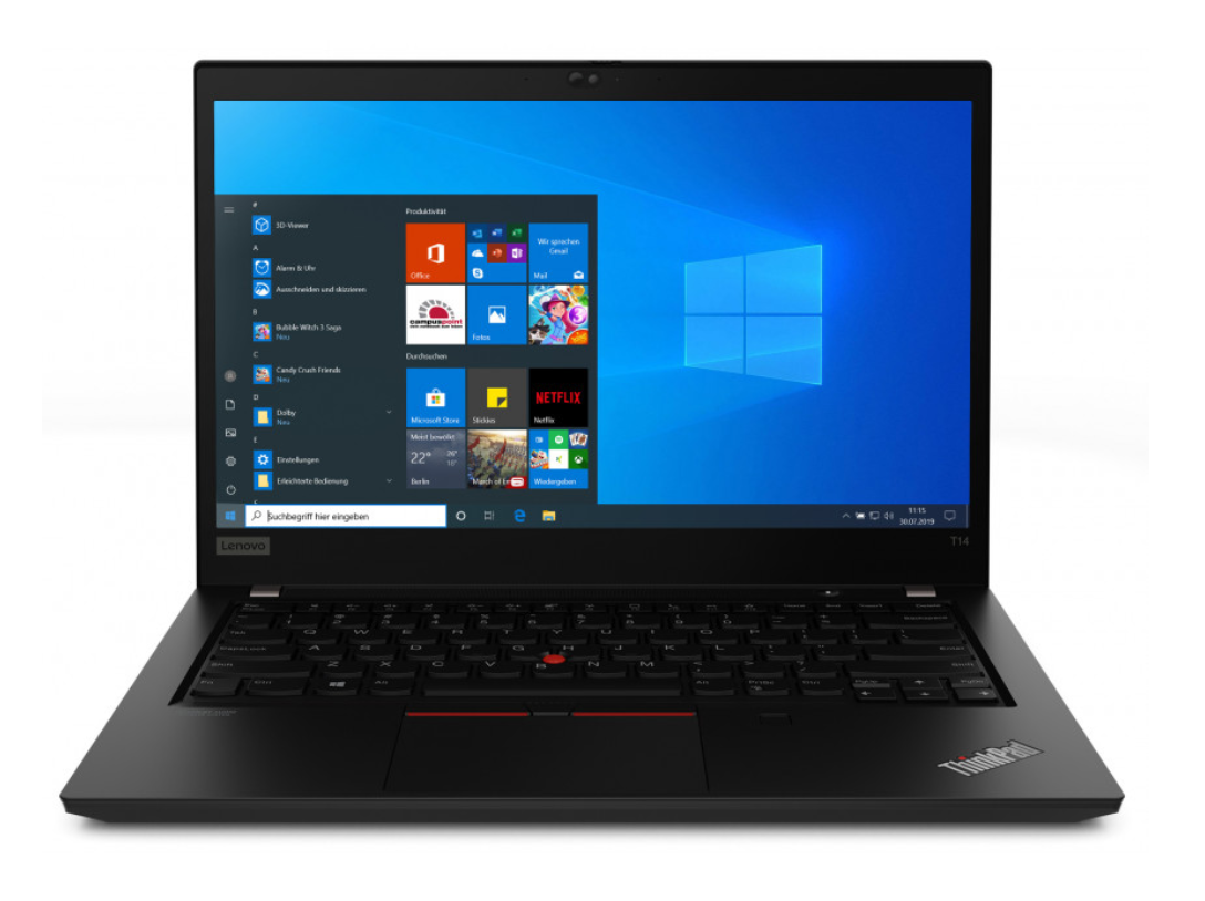 Lenovo ThinkPad T15 Gen 1 15.6