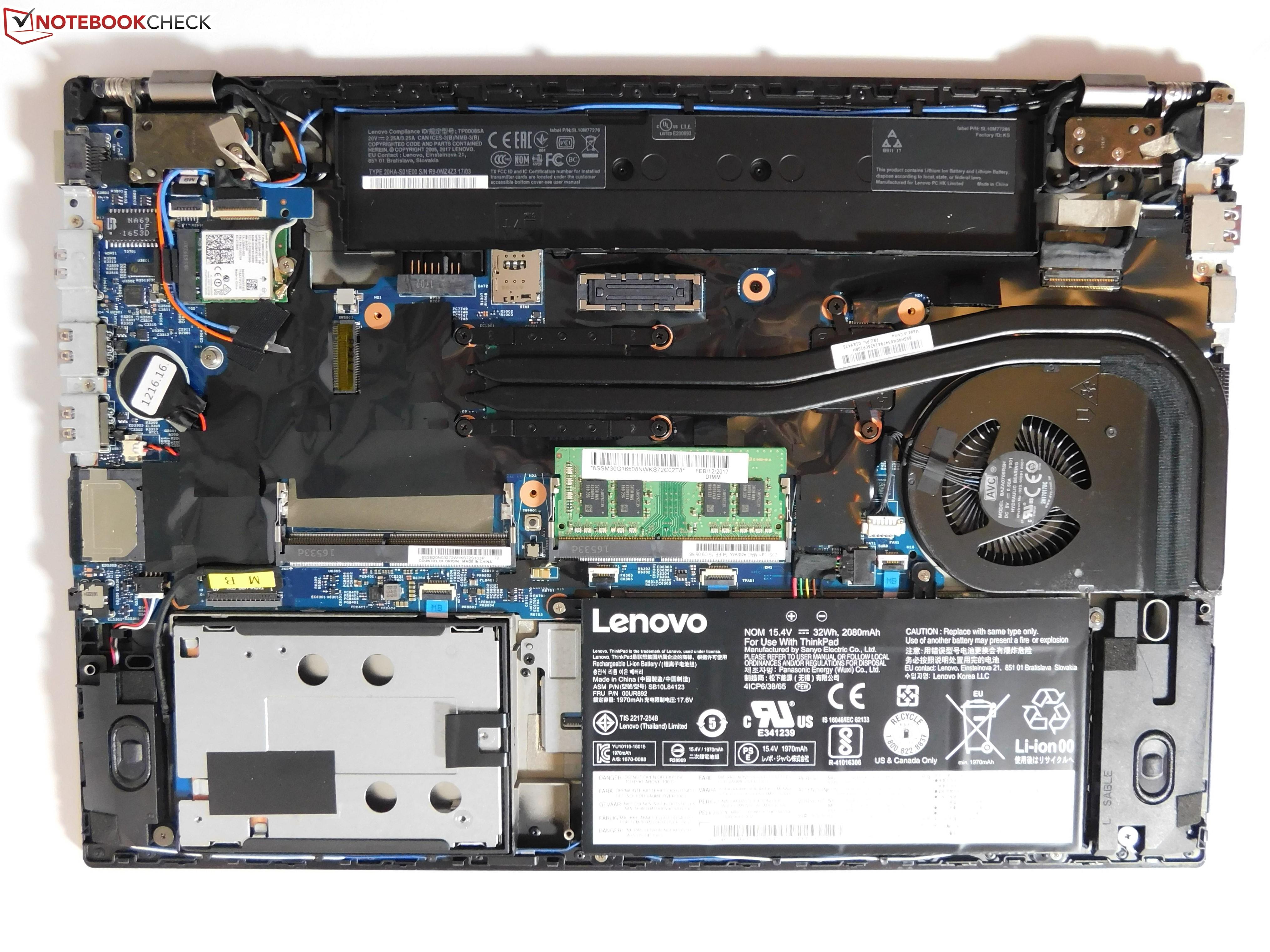 Lenovo ThinkPad T570 (Core i7, 4K, 940MX) Laptop Review