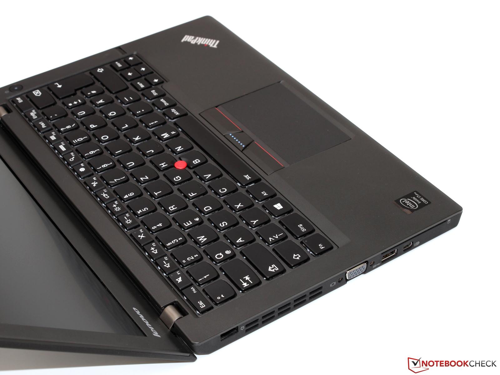 Lenovo ThinkPad X250 Ultrabook Review - NotebookCheck.net Reviews