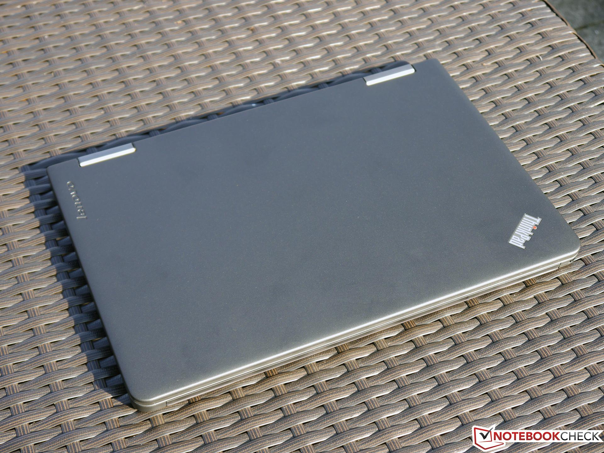 Lenovo ThinkPad Yoga 12 Convertible Review - NotebookCheck net Reviews
