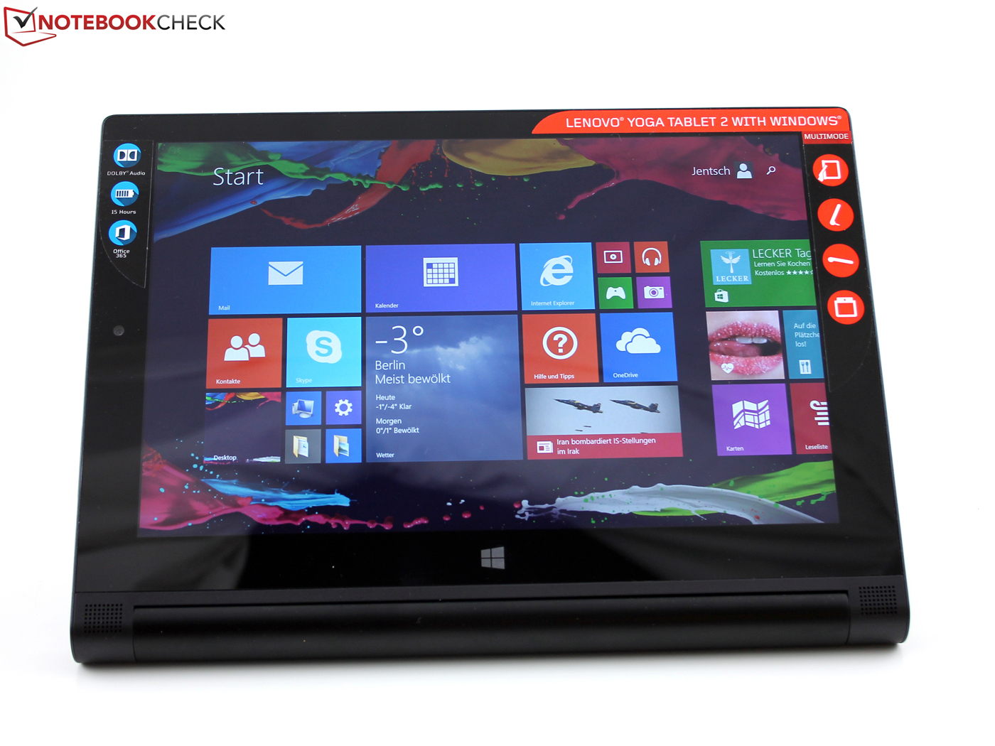 Lenovo Yoga 2 1051f Windows Tablet Review Update