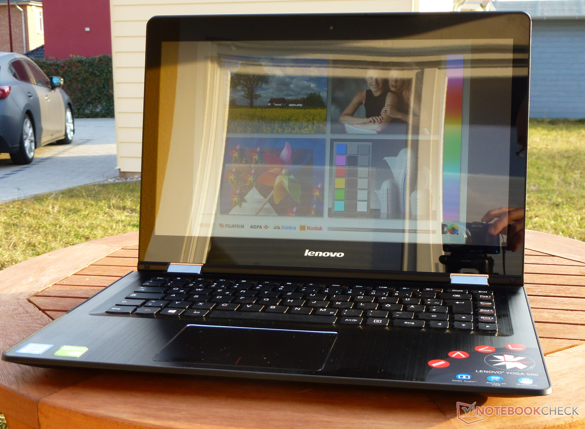 Lenovo Yoga 500-14ISK Notebook Review - NotebookCheck net Reviews