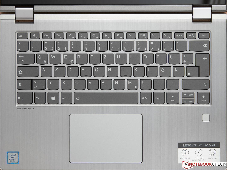 Lenovo Yoga 530-14IKB (i5-8250U, 8 GB, 256 GB SSD
