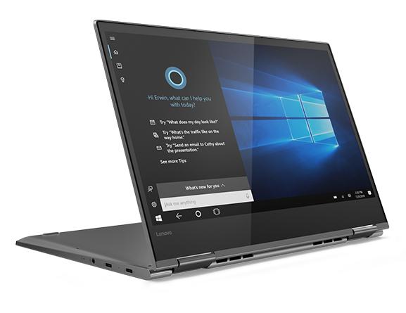 מסודר Lenovo Yoga 730-13IKB (i5-8250U, FHD) Convertible Review XD-98